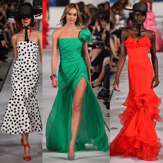 Pictures and Review of Oscar de la Renta's 2012 Spring Summer Resort Runway Show, Starring Candice Swanepoel
