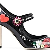 Dolce & Gabbana Embellished Vally Pumps