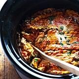 Super Easy Veggie Crockpot Lasagna