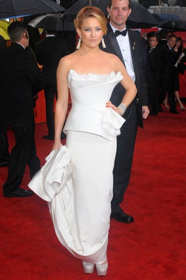 January 2010: Kate Hudson at the 67th Annual Golden Globe Awards