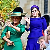 When Sarah Ferguson's Hat Looked Like Something Out of Harry Potter