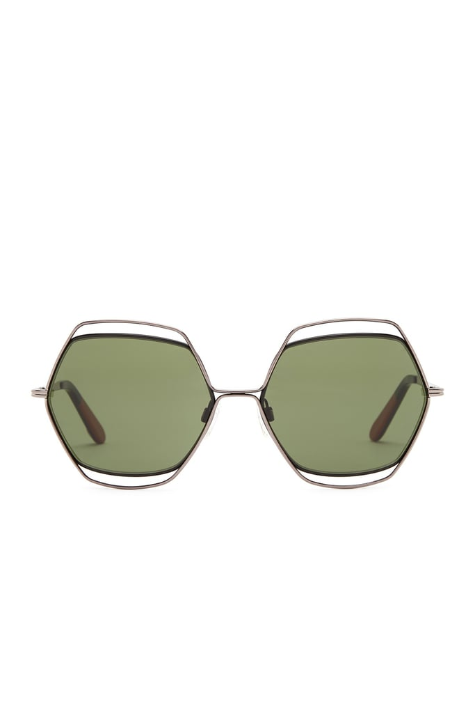 Missoni Women's Wire Embellished Hexagon Sunglasses ($120) are eccentric without being off the wall.