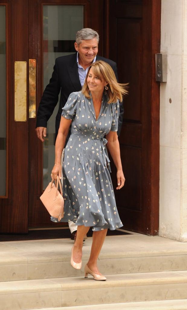 Carole Middleton in July 2013