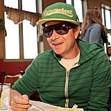 Pauly Shore tried to go incognito on Sunday at a brunch for He's Way More Famous Than You at the Sundance Film Festival.