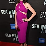 Anne Hathaway at Sea Wall A Life Broadway Show Photos