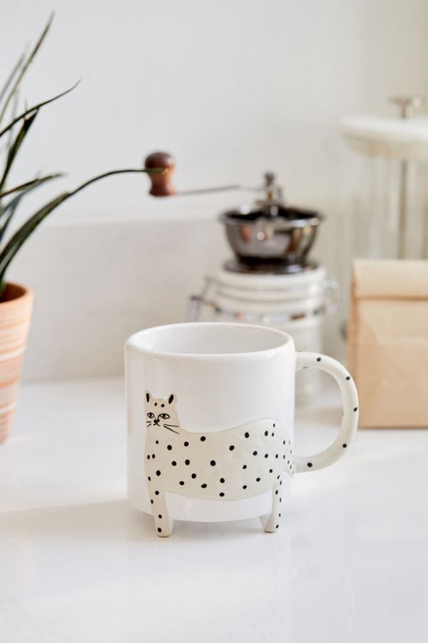 Snow Leopard Ceramic Mug
