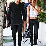 Hailey Baldwin's Jeans Look Like Simple Black Skinnies