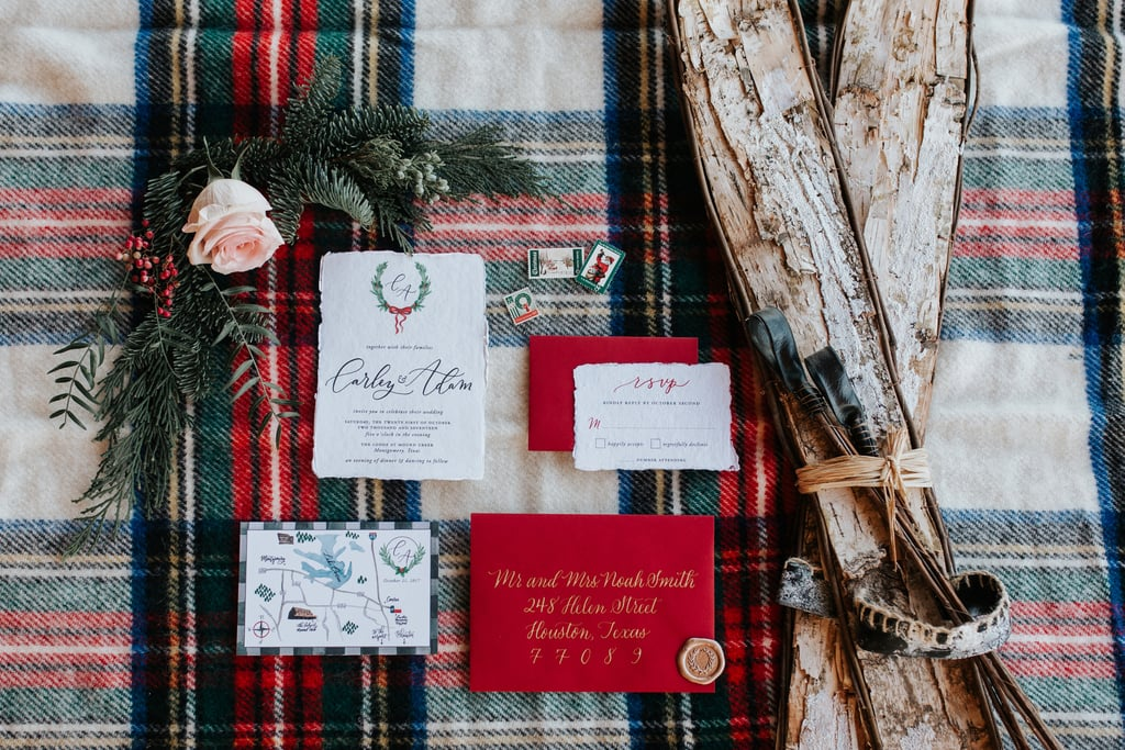 Christmas Themed Wedding Ideas Popsugar Love Sex Photo 3