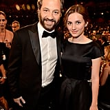 Judd Apatow brought his daughter, Maude Apatow, as his date.