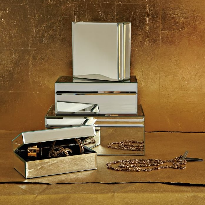 West Elm's engraved mirrored jewelry box ($24-$49) will help keep your friend's copious amounts of baubles organized.