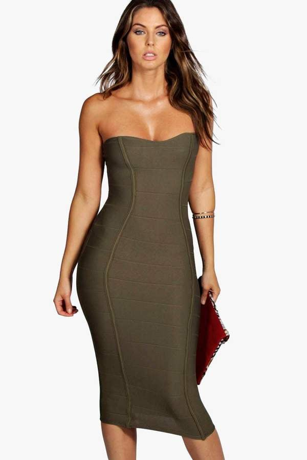 7d40c0208639 Khloe Kardashian Wearing a Bodycon Dress Pregnant | POPSUGAR Fashion