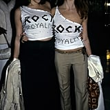 Liv Tyler and Stella McCartney made sure everyone knew who their dads are in 1999.