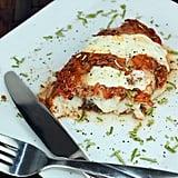 Pizza Fish Parmigiana