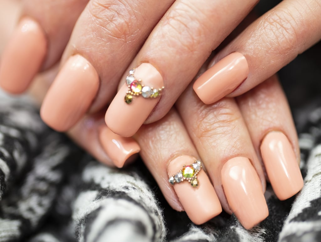 Crystal-Encrusted Nails