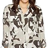 Calvin Klein Jeans Camo Printed Utility Shirt