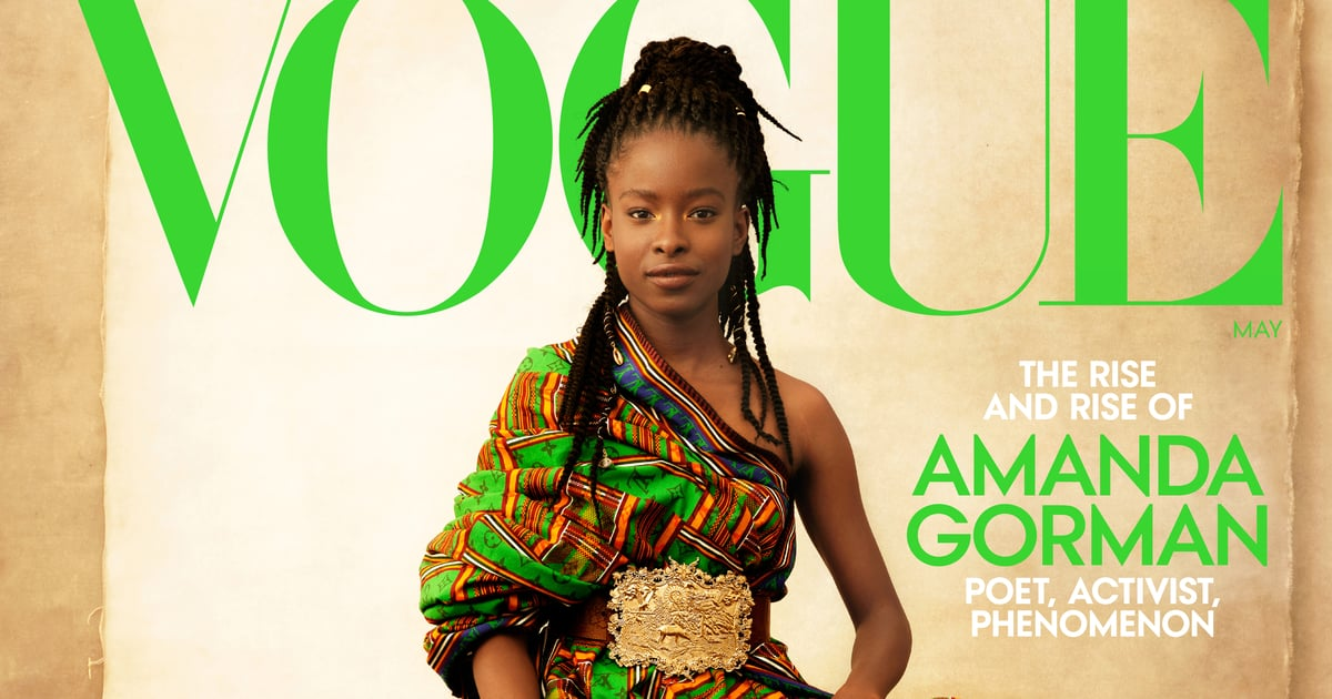 Amanda Gorman Landed Her First Vogue Cover and She Looks Absolutely Stunning in Each Outfit