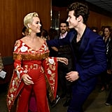 Pictured: Katy Perry and Shawn Mendes