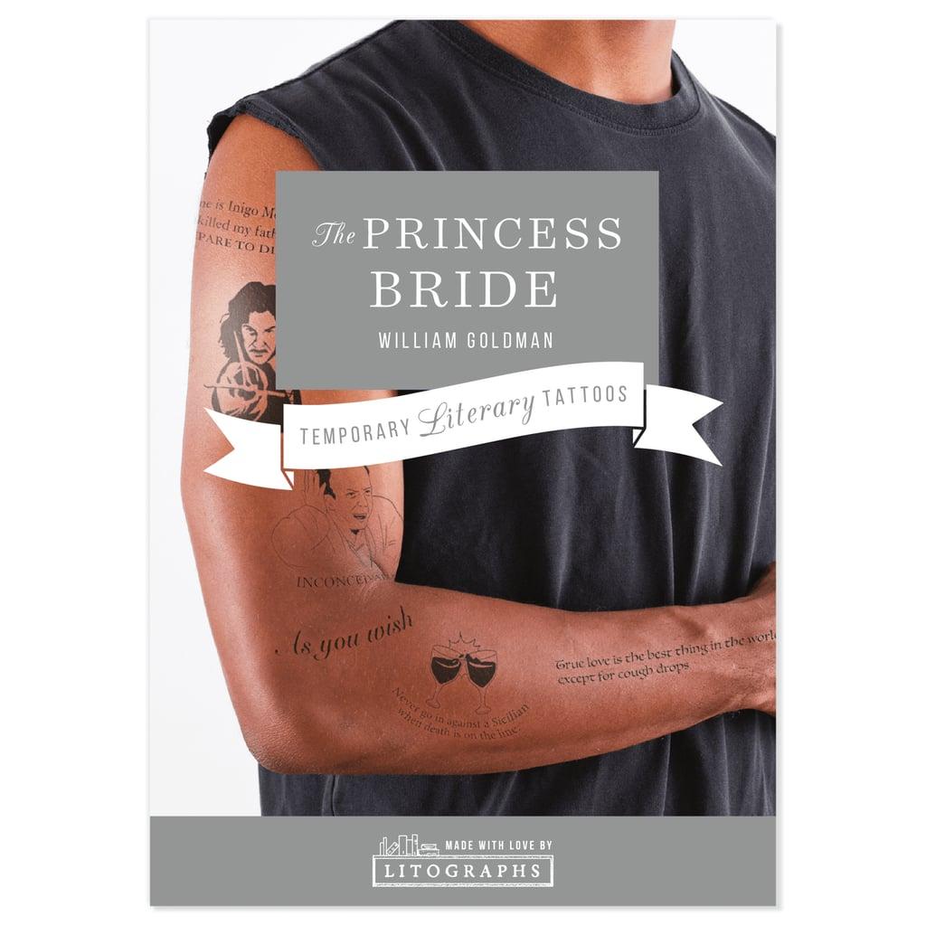 Litographs The Princess Bride Temporary Tattoos