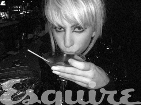 Exclusive PicturesLady Gaga Before She Was Famous Esquire Magazine May 2010