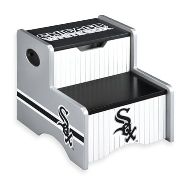 With a practical storage spot and his team's logo on the side, this baseball storage step-up ($70) is a must have.