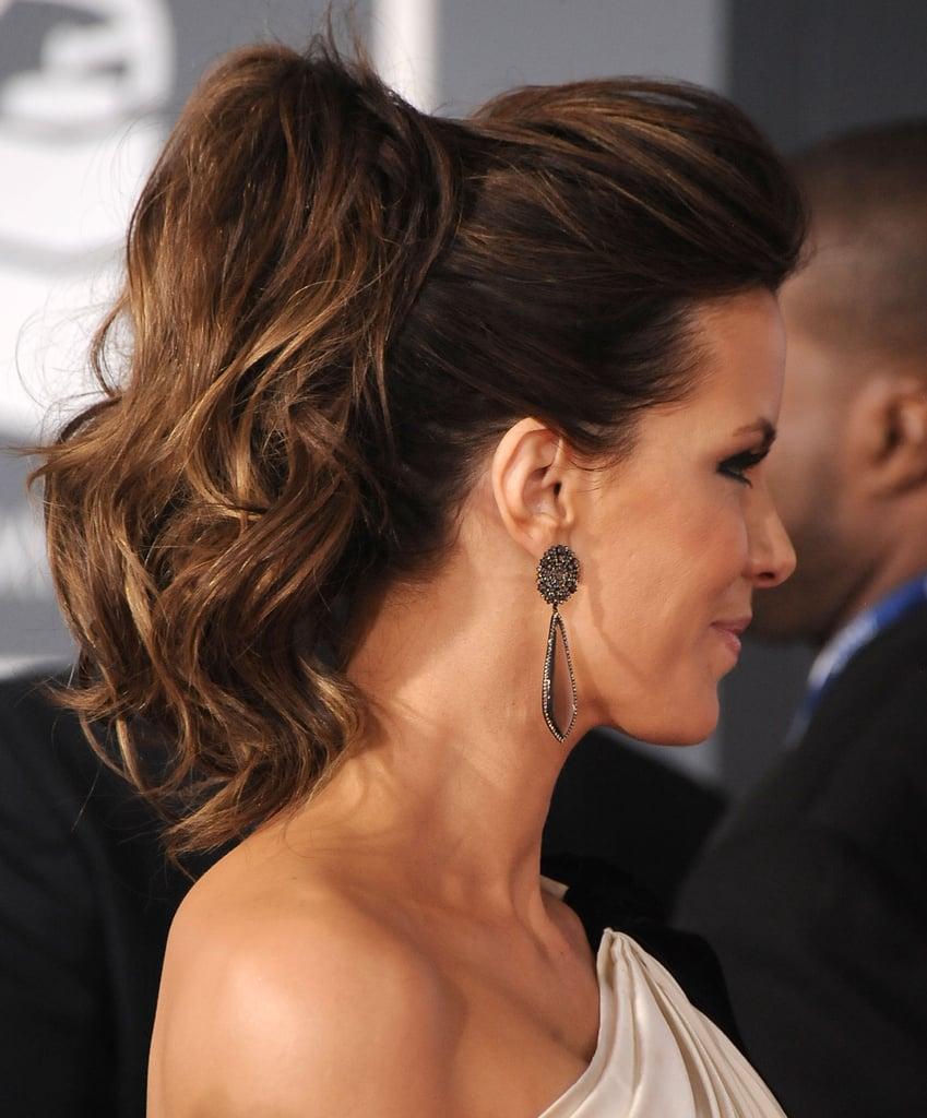 Kate Beckinsale Ponytail Hair Photos Popsugar Beauty