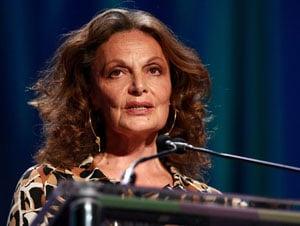 "Fab Flash: Diane von Furstenberg Launches ""Women Can"" Campaign"