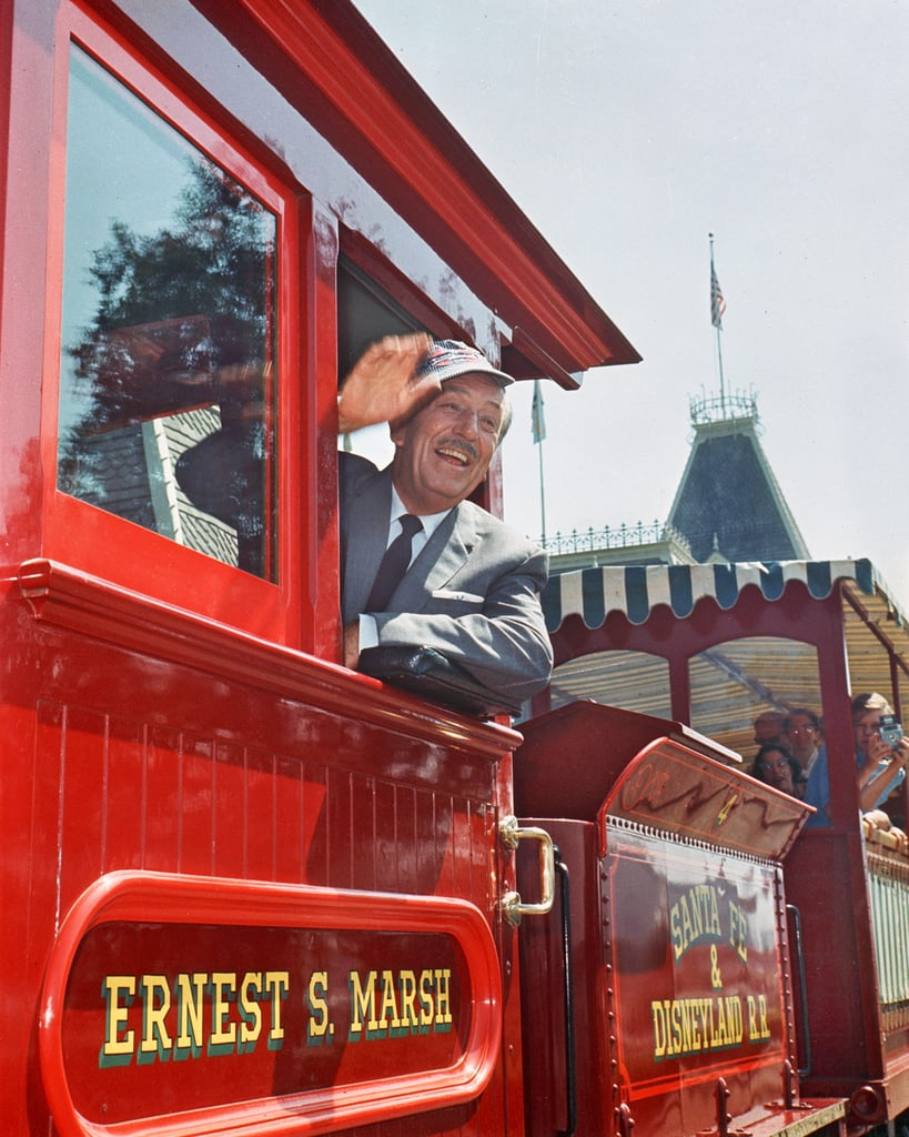 See Walt Disney Himself at the End of the Attraction