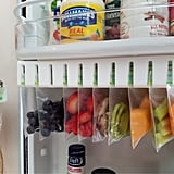 Zip 'n' Store Fridge Door Easy-Store Organiser