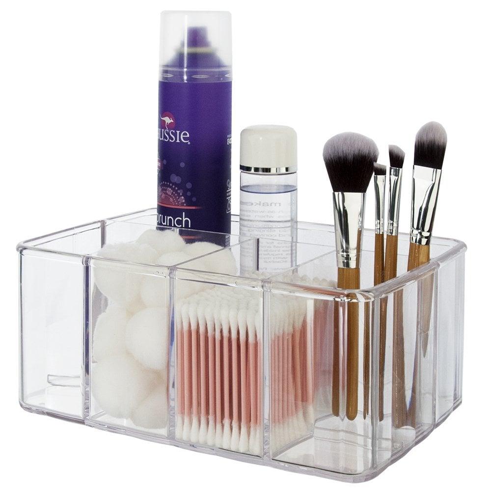 Clear Plastic Vanity Organizer