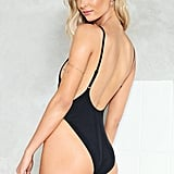 Nasty Gal Alina High Leg Swimsuit