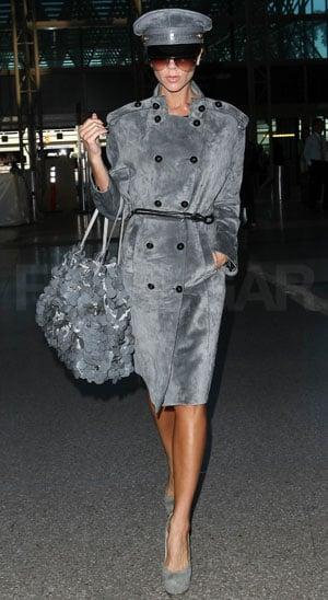 Photos of Victoria Beckham at LAX