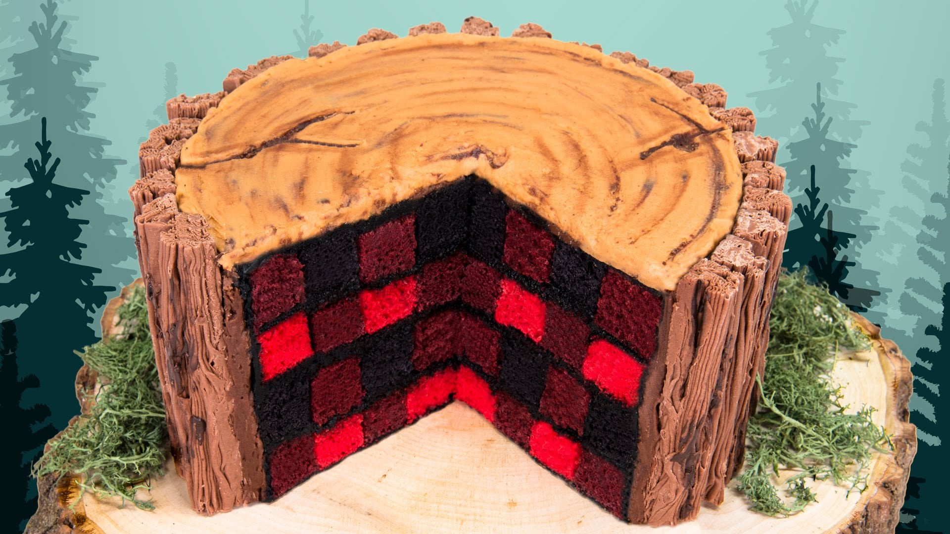 How To Make A Lumberjack Cake Popsugar Food