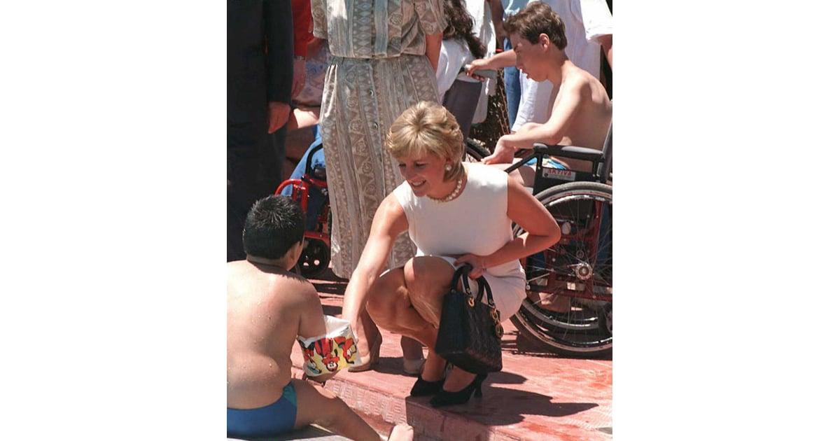 8cc9bc6b96e7 Princess Diana Carrying Her Lady Dior Bag