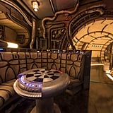 "The ""Chess Room"" in Millennium Falcon: Smugglers Run."