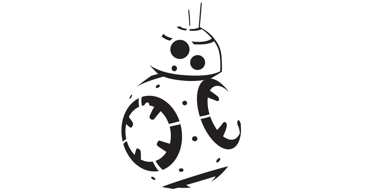 Free Star Wars Pumpkin Templates