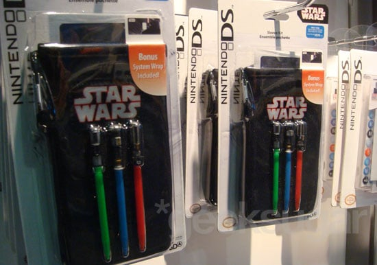 Star Wars Nintendo DS Stylus Pack Found at 2009 E3