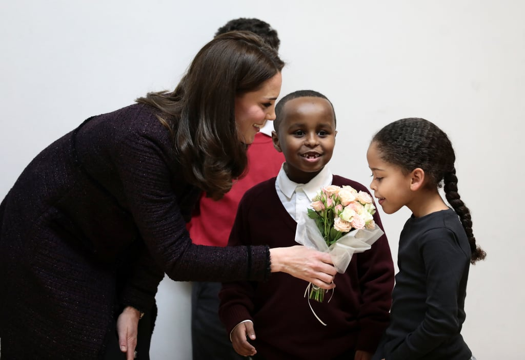 This Little Kid Is So Cool, Kate Middleton Doesn't Even Know How to Deal With It