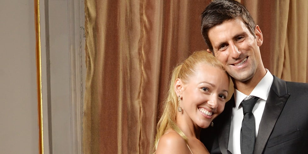 Novak Djokovic and Jelena Ristic Engaged