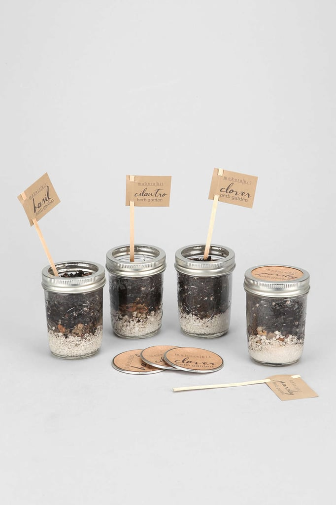 Mason Jar Herb Garden Kit