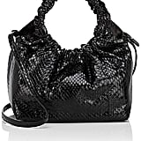 The Row Double-Circle Python Small Bag
