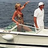 Princess Diana Swimsuit Style