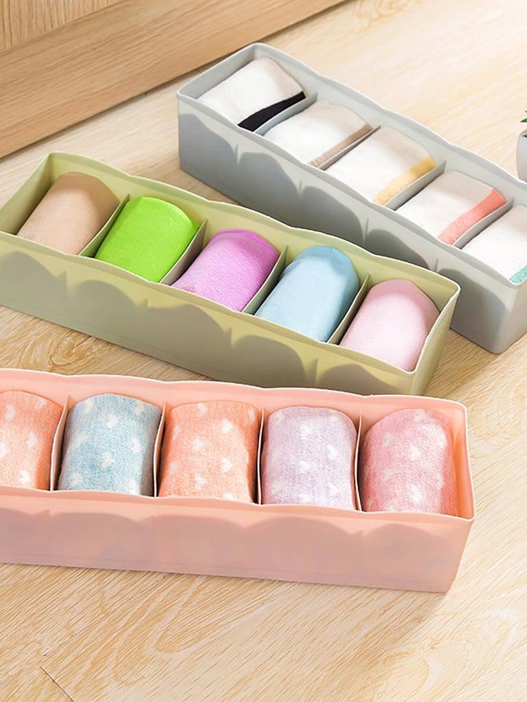Random Color Five Compartment Storage