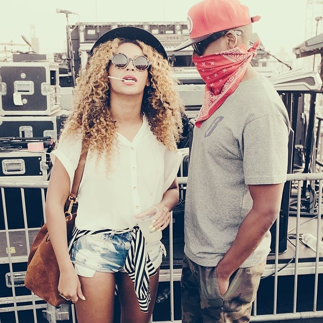 She takes HOV to cool events, like all the time.