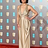 Michelle Rodriguez at the 2019 BAFTA Awards