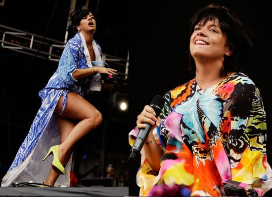 Photos of Lily Allen at Big Day Out Festival in Sydney, Lily Allen Wants a Baby