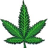 Pot Leaf Jacket Patch