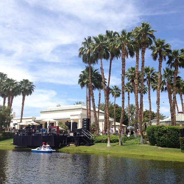 H&M hosted an oasis party in the desert.
