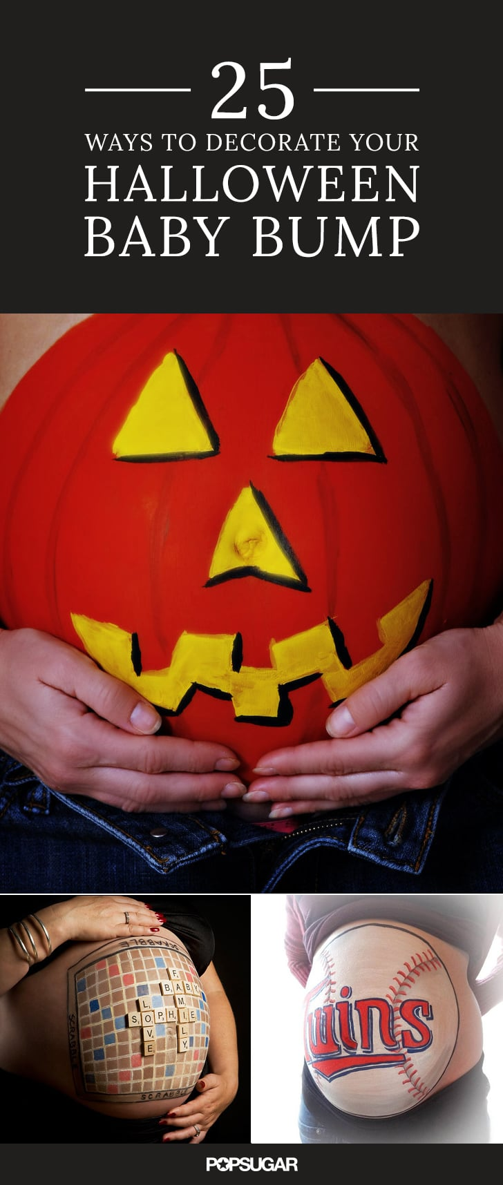Give Your Bump a Halloween Makeover