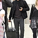 Orlando Bloom arrived in Sydney.
