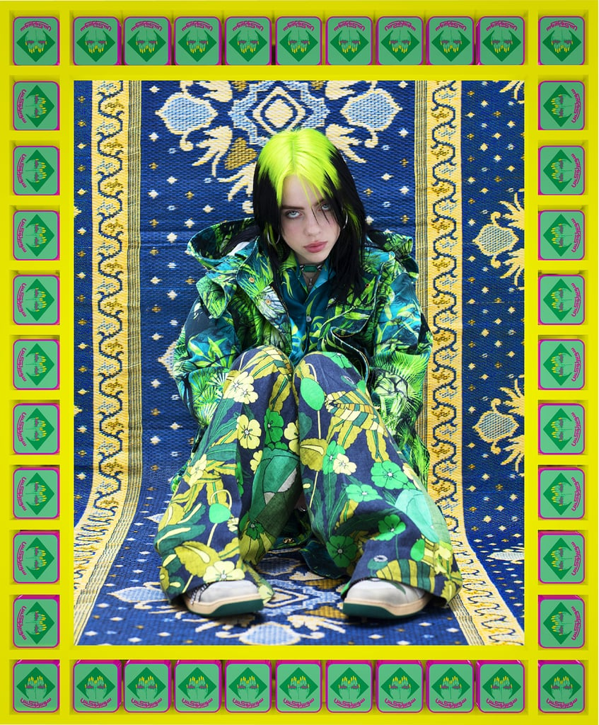 """At just 18 years old, Billie Eilish has cemented herself as one of the biggest stars in music right now. She recently made history as the youngest star to win Grammys in four major categories at this year's ceremony, and now, she's the cover star of Vogue's March 2020 issue. In the accompanying interview, Billie opened up about her rise to fame and how she's reinventing pop stardom.  When asked about her Grammys sweep, which included album of the year, record of the year, song of the year, and best new artist, Billie said, """"That sh*t was f*cking crazy."""" """"If anything it's an exciting thing for the kids who make music in their bedroom,"""" she added. """"We're making progress, I think, in that place — kids who don't have enough money to use studios.""""  With her unique style and songs ranging from electropop to alternative rock, there's no denying that Billie is one of a kind, but don't call her a rule-breaker. """"This whole time I've been getting this one sentence, like, I'm a rule-breaker or I'm anti-pop, or whatever. It's like, where, though? What rule did I break?"""" Billie explained. """"Maybe people see me as a rule-breaker because they themselves feel like they have to follow rules, and here I am not doing it. That's great, if I can make someone feel more free to do what they actually want to do instead of what they are expected to do. But for me, I never realized that I was expected to do anything. I guess that's what is actually going on — that I never knew there was a thing I had to follow. Nobody told me that sh*t, so I did what I wanted."""" """"Maybe people see me as a rule-breaker because they themselves feel like they have to follow rules, and here I am not doing it."""" """"The positive comments about how I dress have this slut-shaming element,"""" she continued. """"Like, 'I am so glad that you're dressing like a boy, so other girls can dress like boys, so that they aren't sluts.' That's basically what it sounds like to me. And I can't overstate how strongly I do not appreciate that,"""
